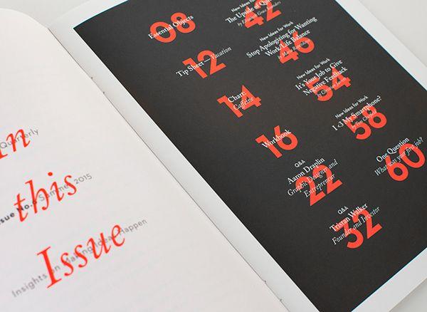 99U Quarterly — Issue 6 on Behance