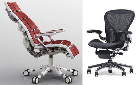 Ergonomic Office Chairs Design With