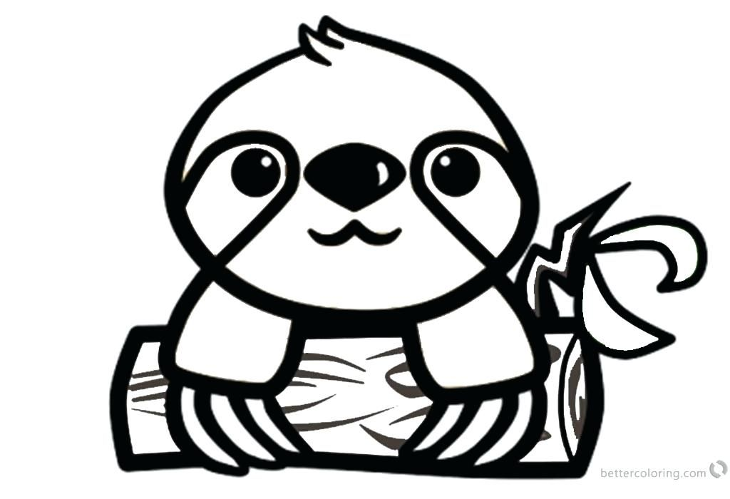 cute sloth coloring pages ( images)  dog coloring