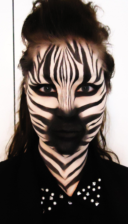 Zebra – Makeup Tutorial