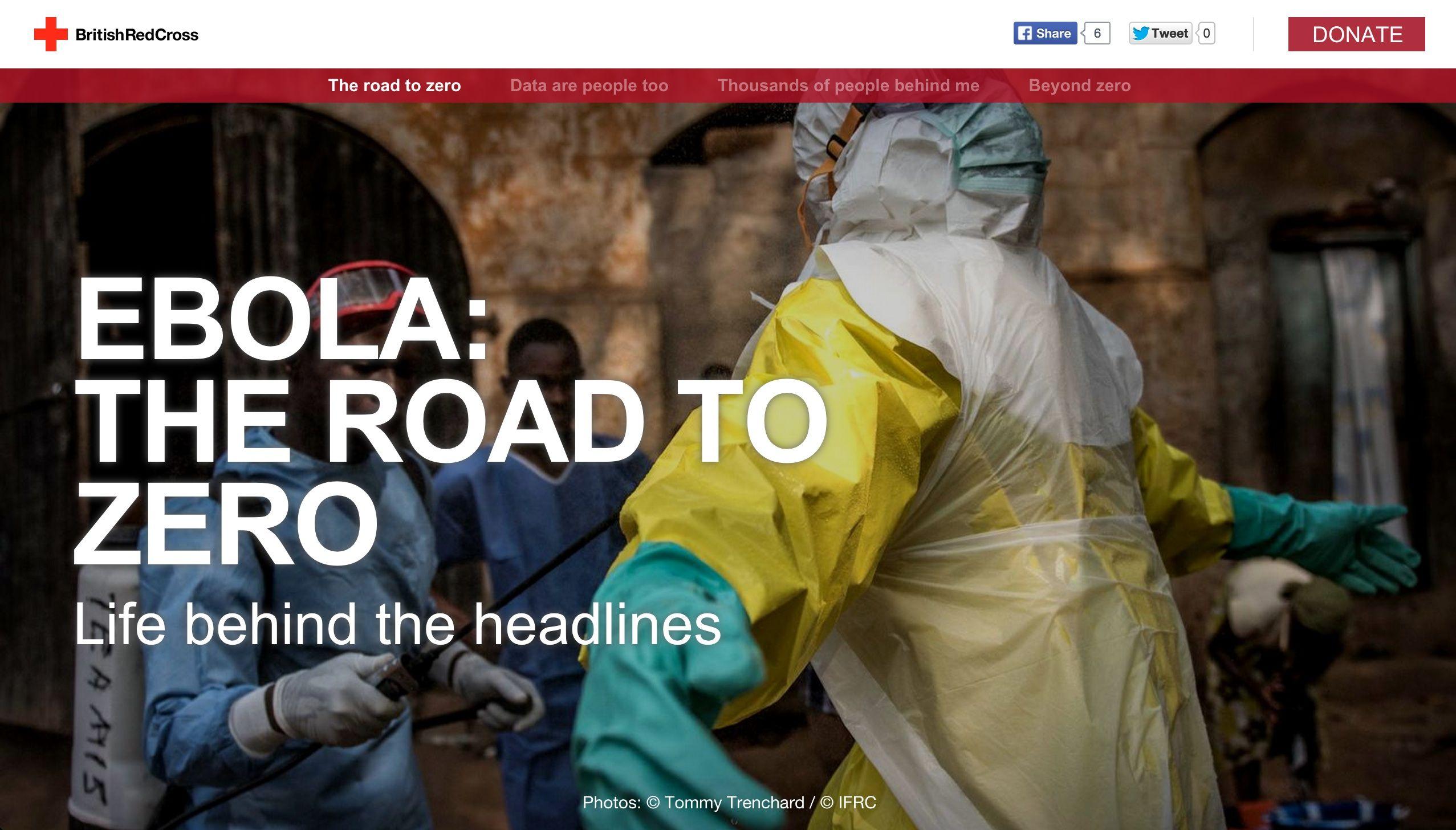Ebola: The road to zero, British Red Cross