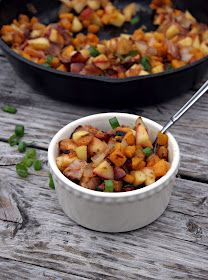 The Urban Poser:: Apple, Butternut Squash & Bacon (or Pecan) Breakfast Hash (Gaps/Paleo/Vegan options)