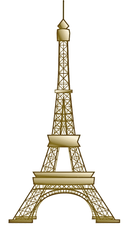 The Most Perfect Letter A Eiffel Tower Clip Art Eiffel Tower Painting Eiffel Tower Drawing