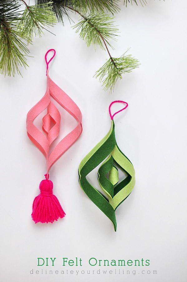 Felt mobile ornaments solutioingenieria Choice Image
