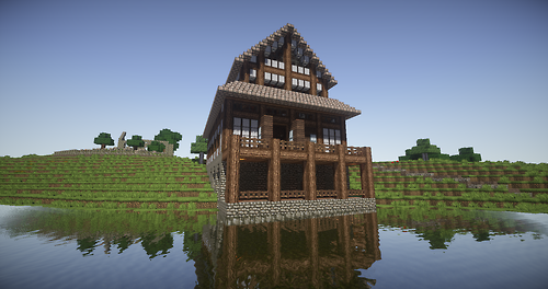 Minecraft houses on pinterest minecraft cool minecraft for Epic house designs