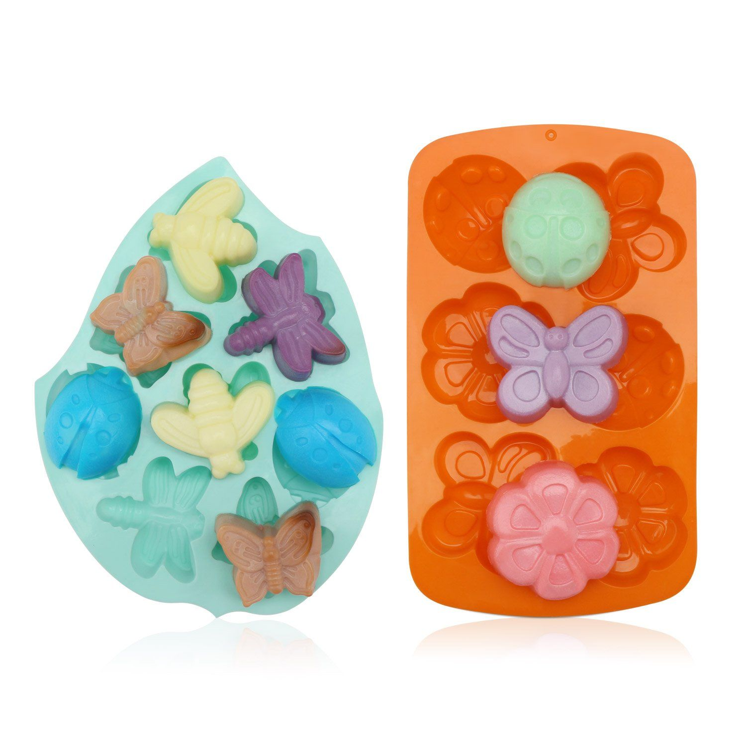 6 CAVITY STARFISH CHOCOLATE CLAY SOAP LOLLIPOP MOULD MOULD // MOULDS