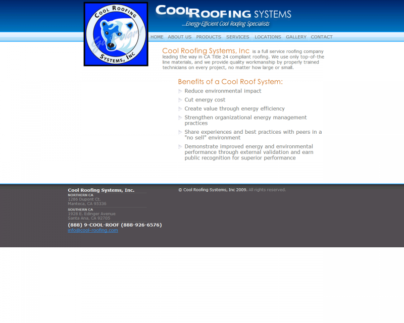 Cool Roofing Systems Is A Full Serviced Roofing Company Committed To Provide Only Top Of The Line Materials Along Cool Roof Roofing Systems Roofing Companies
