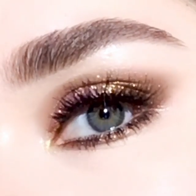 Bronze Autumn Eye Makeup Tutorial