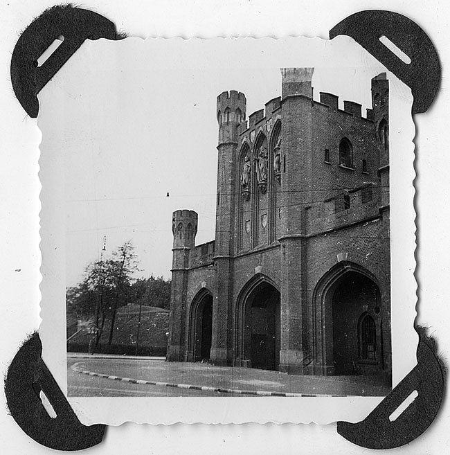 Кёнигсберг (Калининград), Королевские ворота, ок.1940.