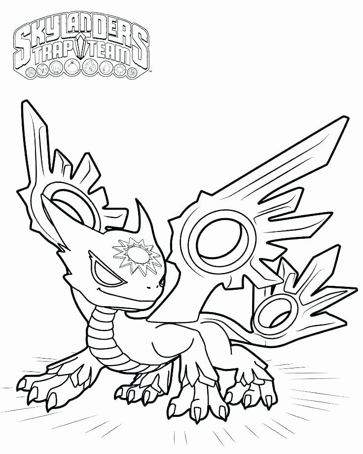 Skylanders Superchargers Coloring Page Luxury Coloring