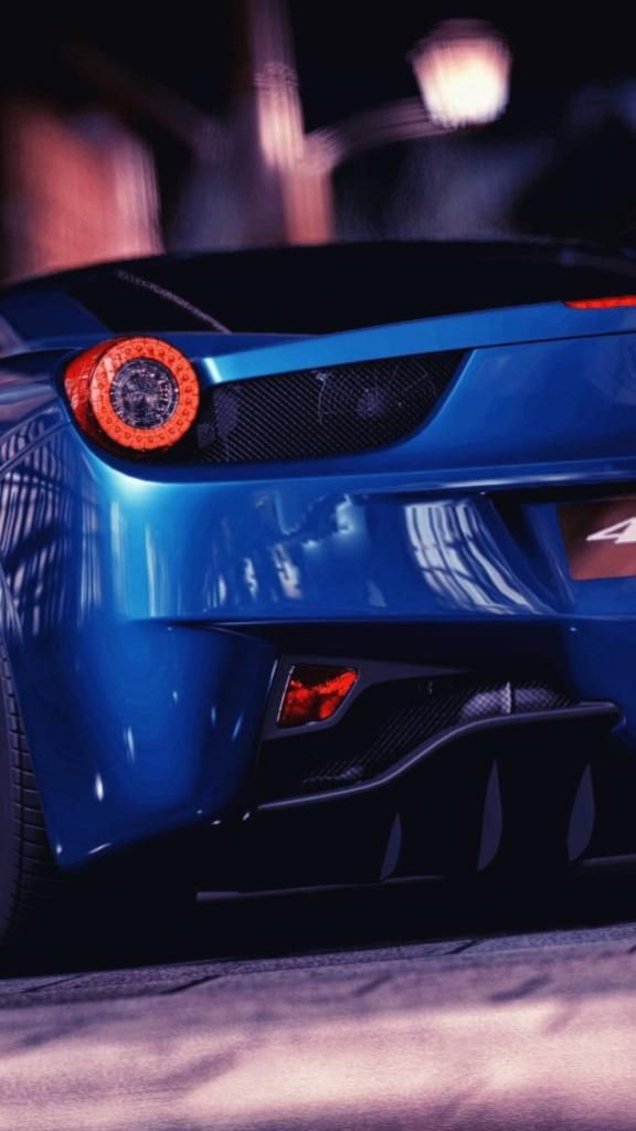 Iphone X Screensaver Blue Car Iphone Wallpaper Awesome Ferrari