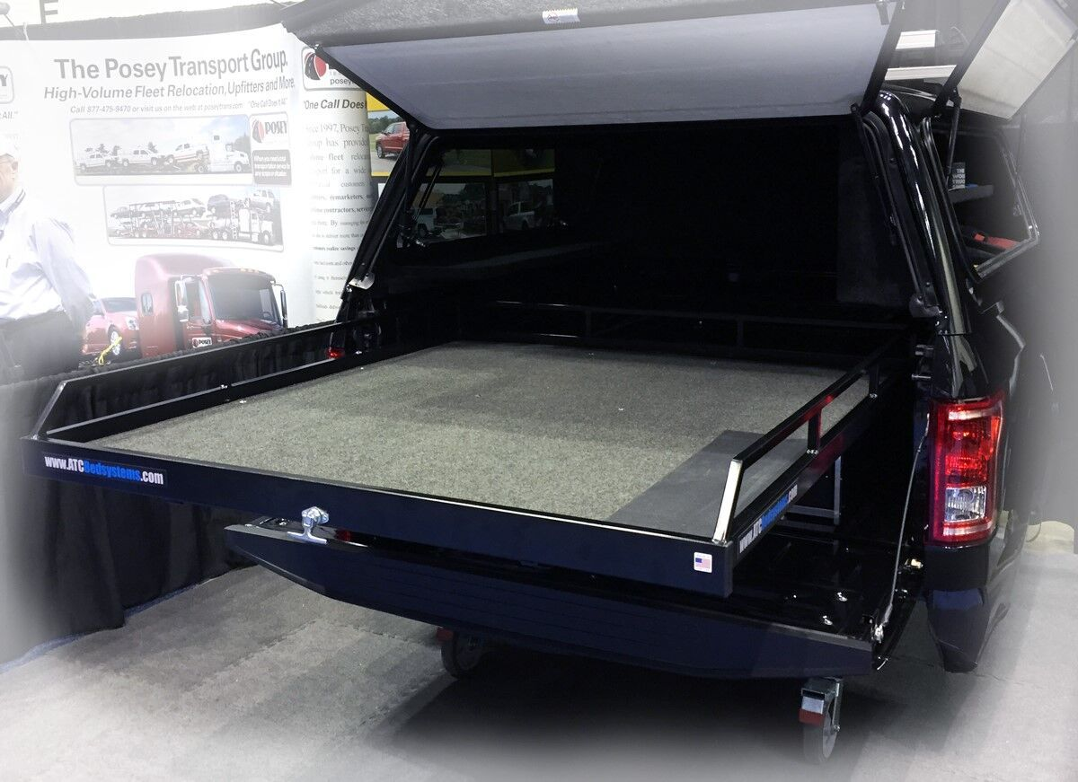 Store 'n Pull Truck Storage Drawer Bed System Slides in
