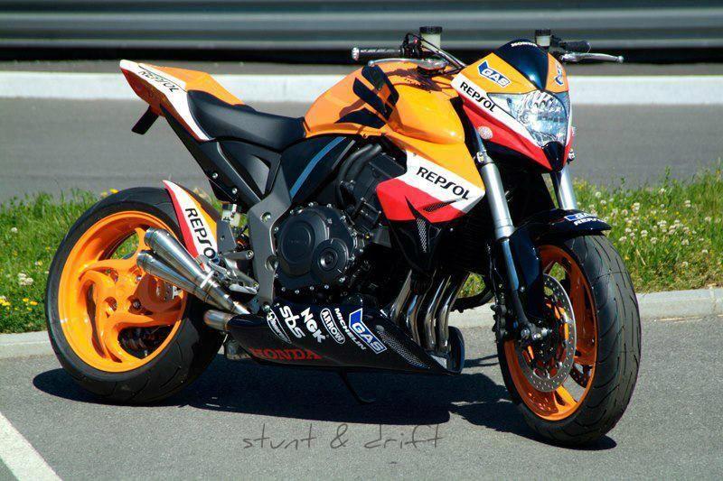 Cool Custom Honda Repsol Street Racer