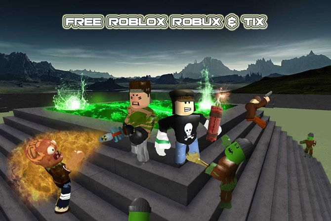 Generate free robux and tix  This is the only best roblox