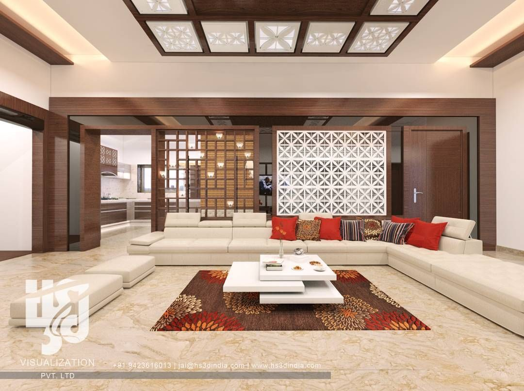 Livingroom interiordesign 3dvisualization archdaily - Living room designs pictures ...