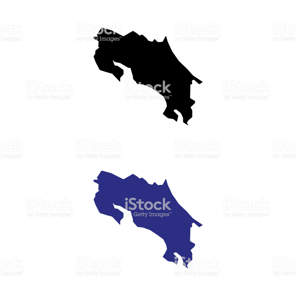A Set Of Costa Rica Map Icons Map Icons Cartography Free Vector Art