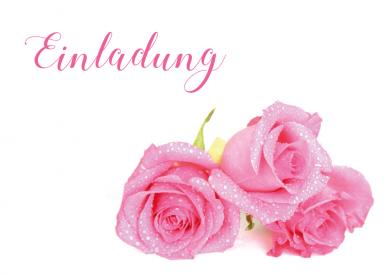 rosentau einladungskarten pink pinterest geburtstag geburt und einladungen. Black Bedroom Furniture Sets. Home Design Ideas