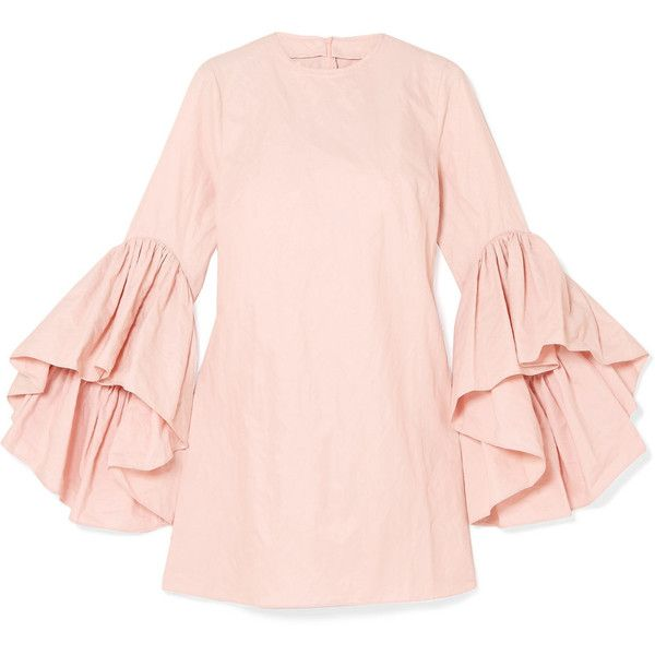 Cheap Finishline Ruffled Crinkled-taffeta Mini Dress - Pastel pink Marques Almeida Discount Authentic Cheap Sale Manchester Get The Latest Fashion Order Sale Online 9wRL6nf6c