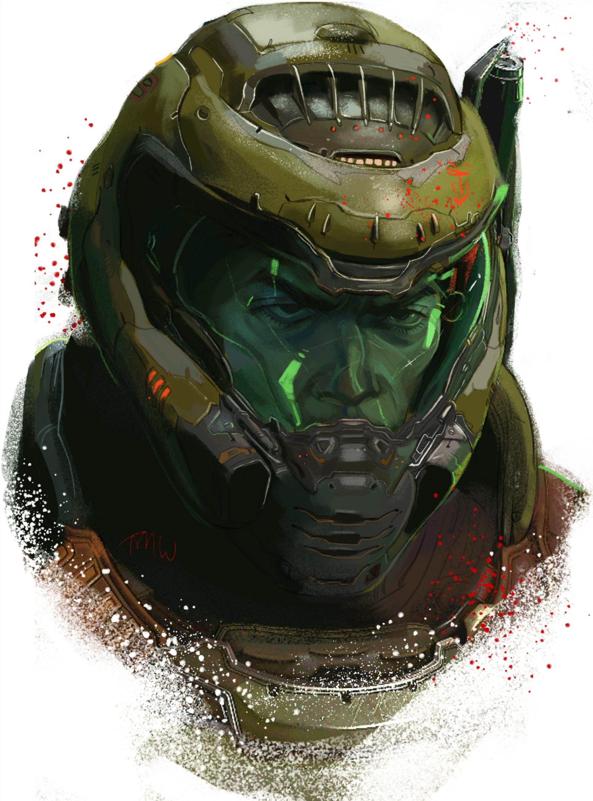 Pin By Moizz On The Doom Slayer In 2020 Doom Videogame Doom