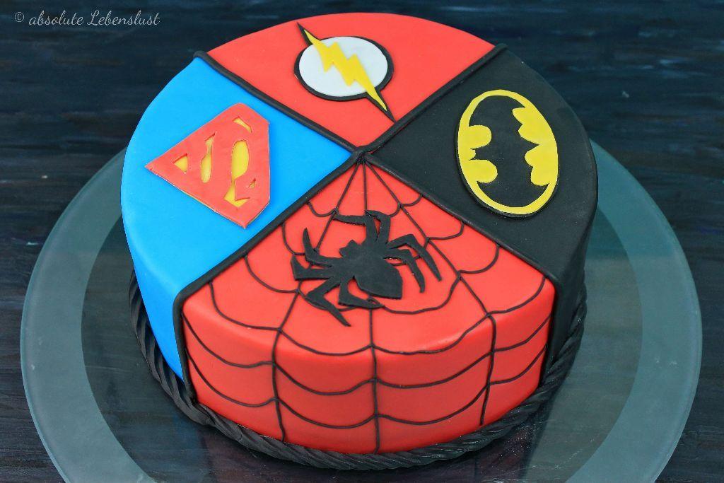 Superhelden Torte Backen Torten Backen Spiderman Kuchen Batman Kuchen Superman Kuchen Flash Kuche Spiderman Kuchen Motivtorten Selber Machen Batman Kuchen