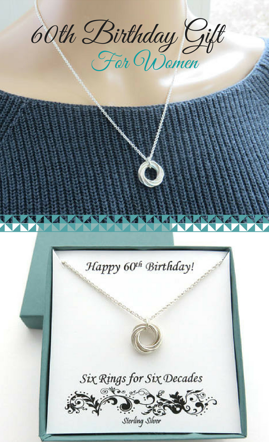 60th Birthday Gift For Women