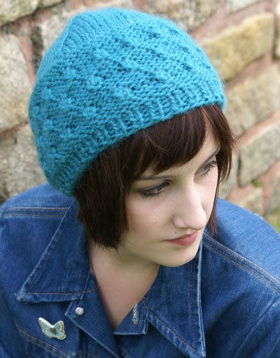 Free Knitting Pattern Hats Montera Cob Toque Knitting