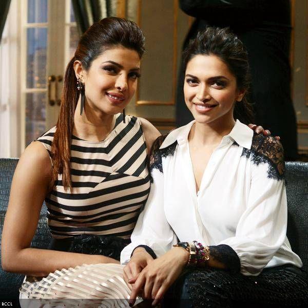 Deepika & Priyanka Friends Indeed! (With images) | Deepika ...