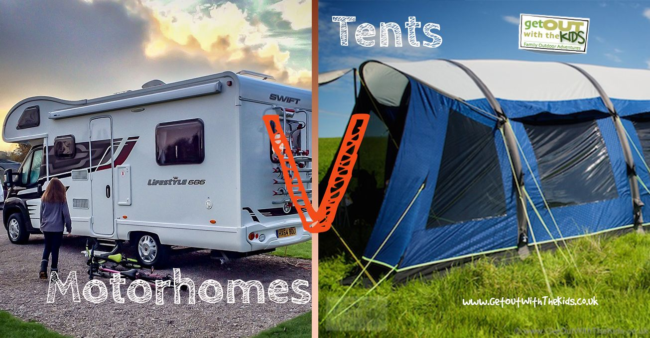 Motorhomes vs. Tents Which is best for you? : motorhome tent - memphite.com