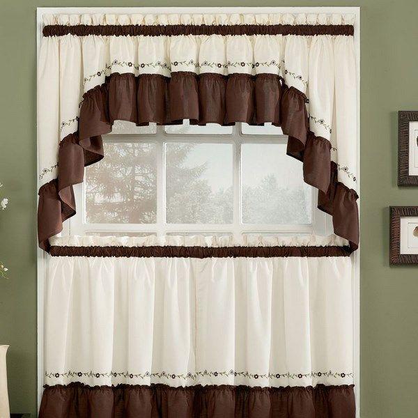 Cortinas para cocinas peque as decoraci n pinterest for Decoracion de cortinas para cocina