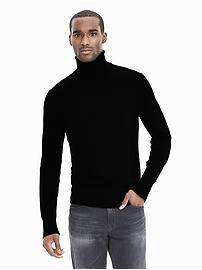 Extra-Fine Merino Wool Sweater Turtleneck