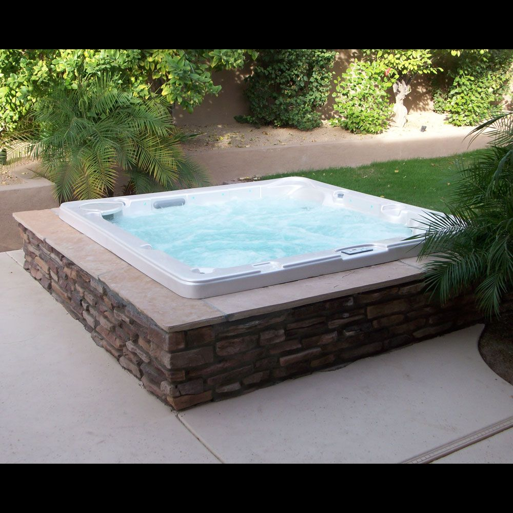 Sedona spas arizona 39 s leading in ground spa manufacturer for Above ground pool decks with hot tub