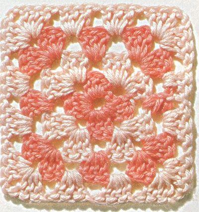 Professione Donna: Punti all'uncinetto motivi patchwork: quadrato traforato; fiore in un quadrato; quadrato hawaiano; quadrato vecchia America