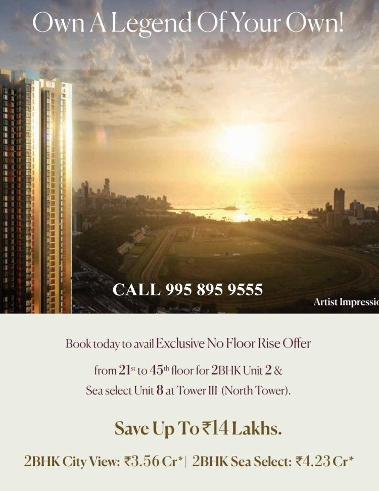 Piramal Mahalaxmi Call 91 995 895 9555 No Floor Rise Offer Piramal Mahalaxmi North Tower In 2020 North Tower Tower Best Location