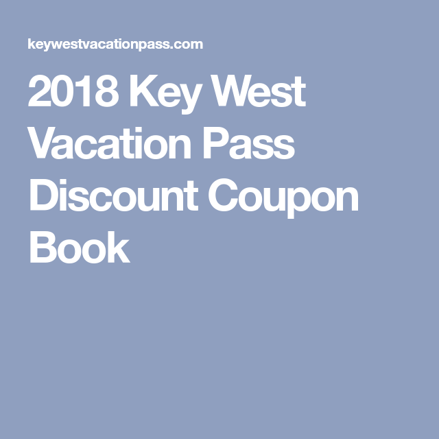 Key West Coupons Discounts and Deals