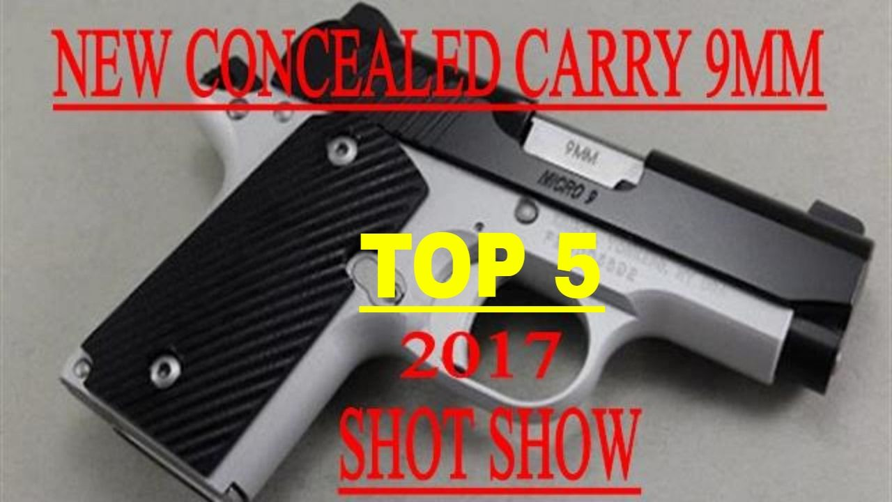 top 5 best concealed carry 9mm | Оружие | Pinterest | Conceal