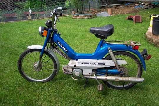 1978 Puch Maxi Moped Scooter 100 Original Cosmetically In Great