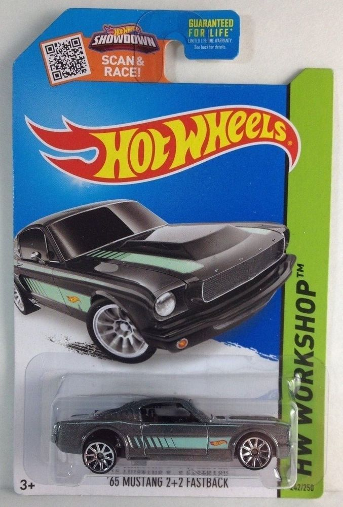 Hot Wheels Wheel Error 65 Mustang Fastback Gray Hotwheels Ford