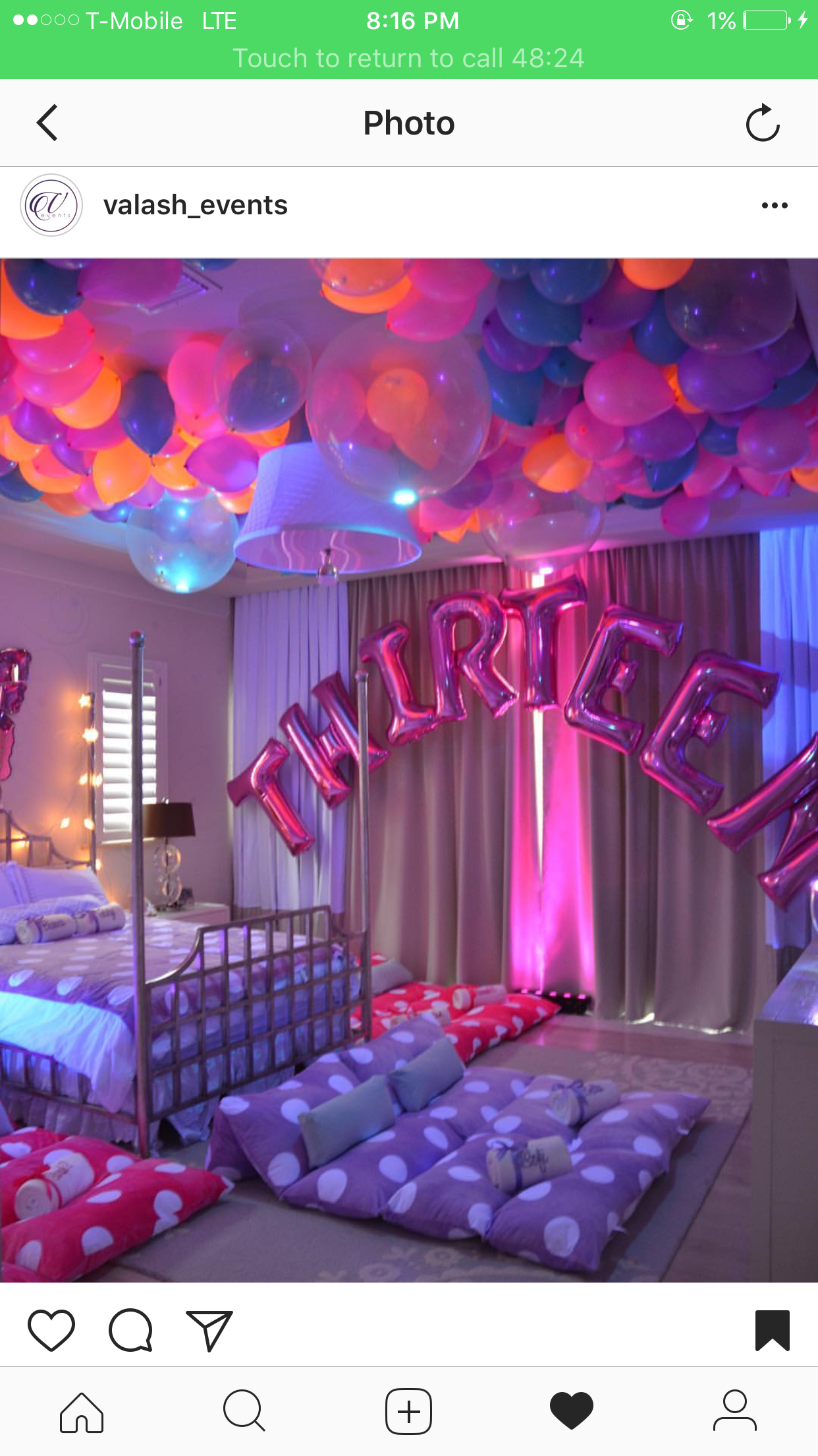 13th birthday ideas ✝Follow me for more pins💫@moneymaykay♥ | party with me  13th birthday ideas