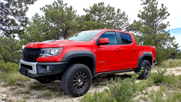 Review Taking The 2019 Chevrolet Colorado Bison To The High