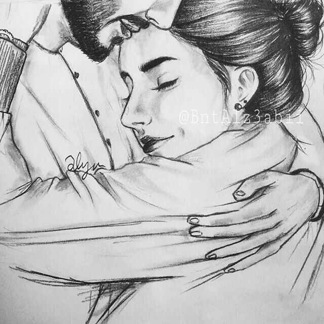 Pin By Nafih On Photo Cute Couple Drawings Drawings Love Drawings