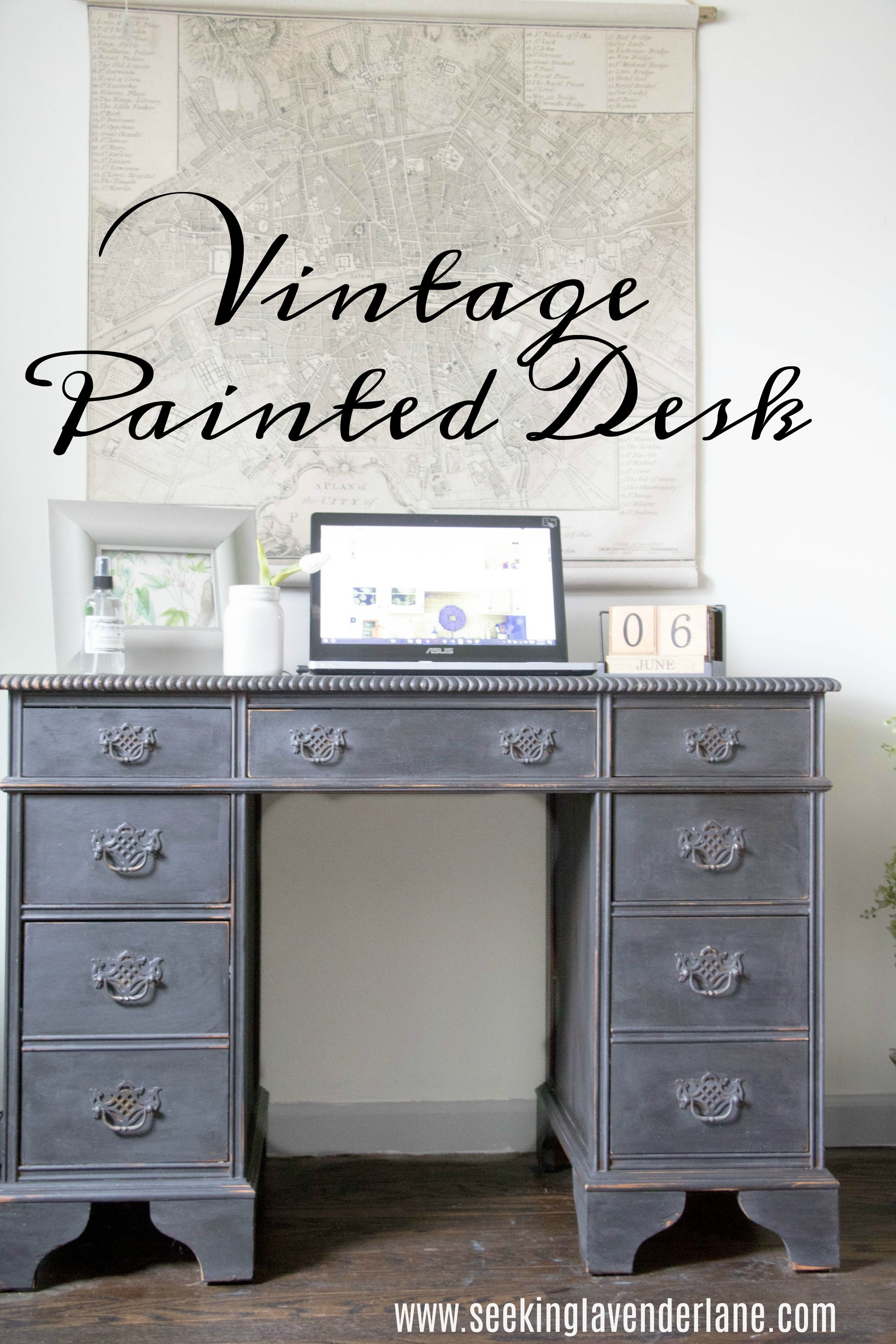 vintage painted desk desks board and furniture projects