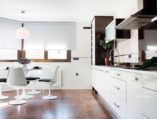 suelo oscuro en cocina buscar con google c pinterest