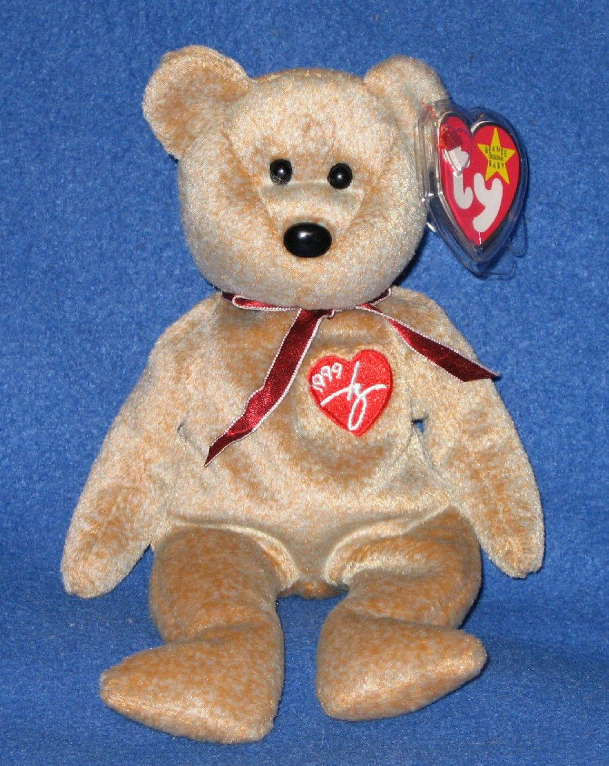 1.95 - Ty 1999 Signature Bear Beanie Baby - Mint With Mint Tag  ebay   Collectibles ba7c0e18ddc