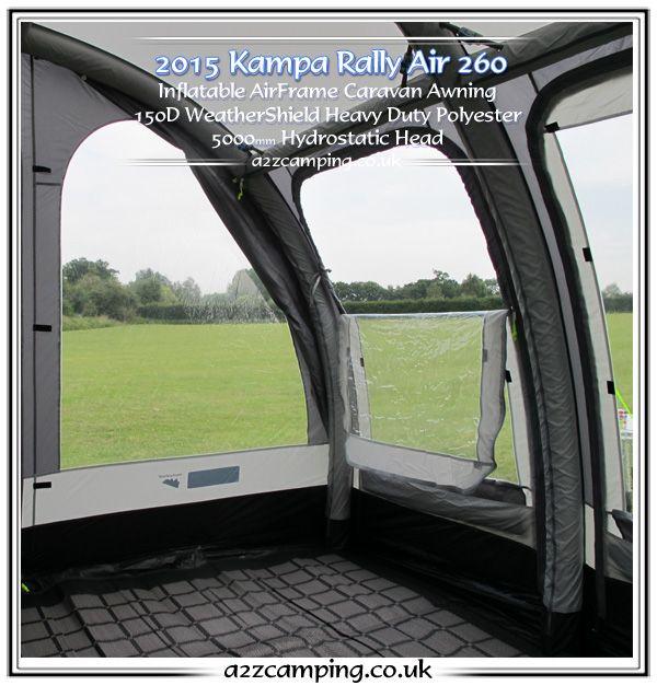 Inside the revamped Kampa Rally Air 260 inflatable caravan ...
