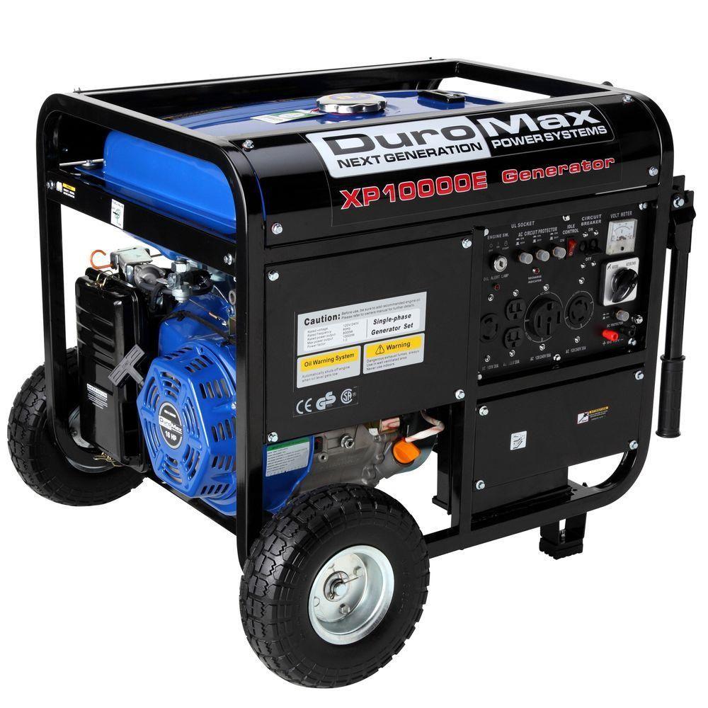 Duromax 10000 8 000 Watt Gasoline Powered Electric Start