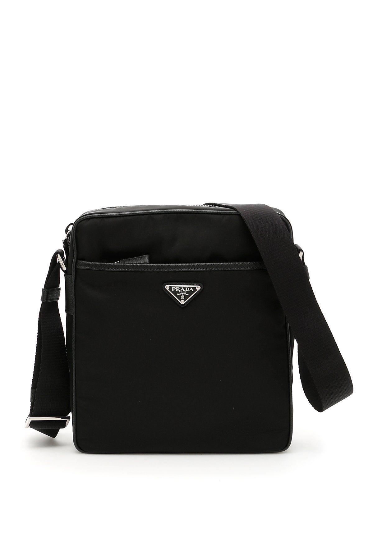 3893d70754ba0d PRADA PRADA NYLON MESSENGER BAG. #prada #bags #shoulder bags #leather #nylon