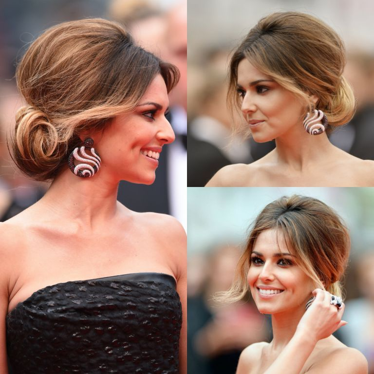 Cheryl Cole Wedding Hairstyle: Cheryl Cole On The Red Carpet For The 'Foxcatcher
