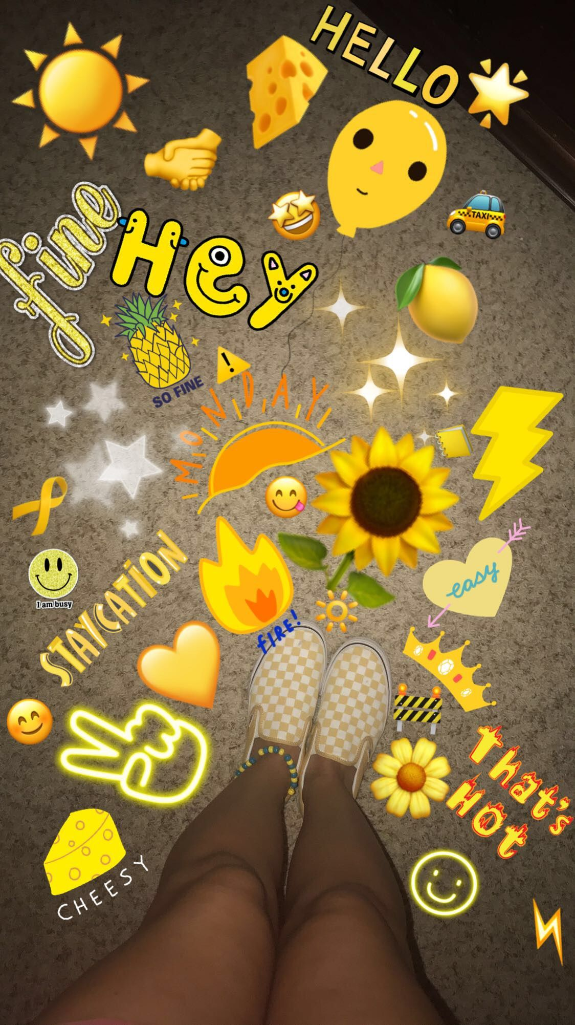 Pin by Keeleyparton on Yellow Emoji pictures, Art hoe