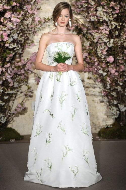 Cute Patterned Wedding Dresses | Weddings | Pinterest | Wedding ...