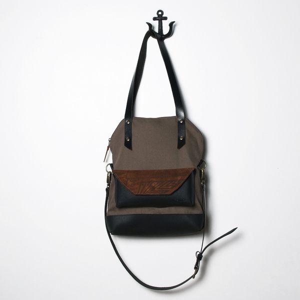 Le sac pliable Noir NOujica